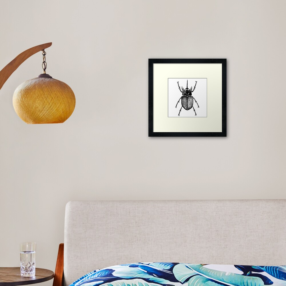 Beetle with one horn square_product