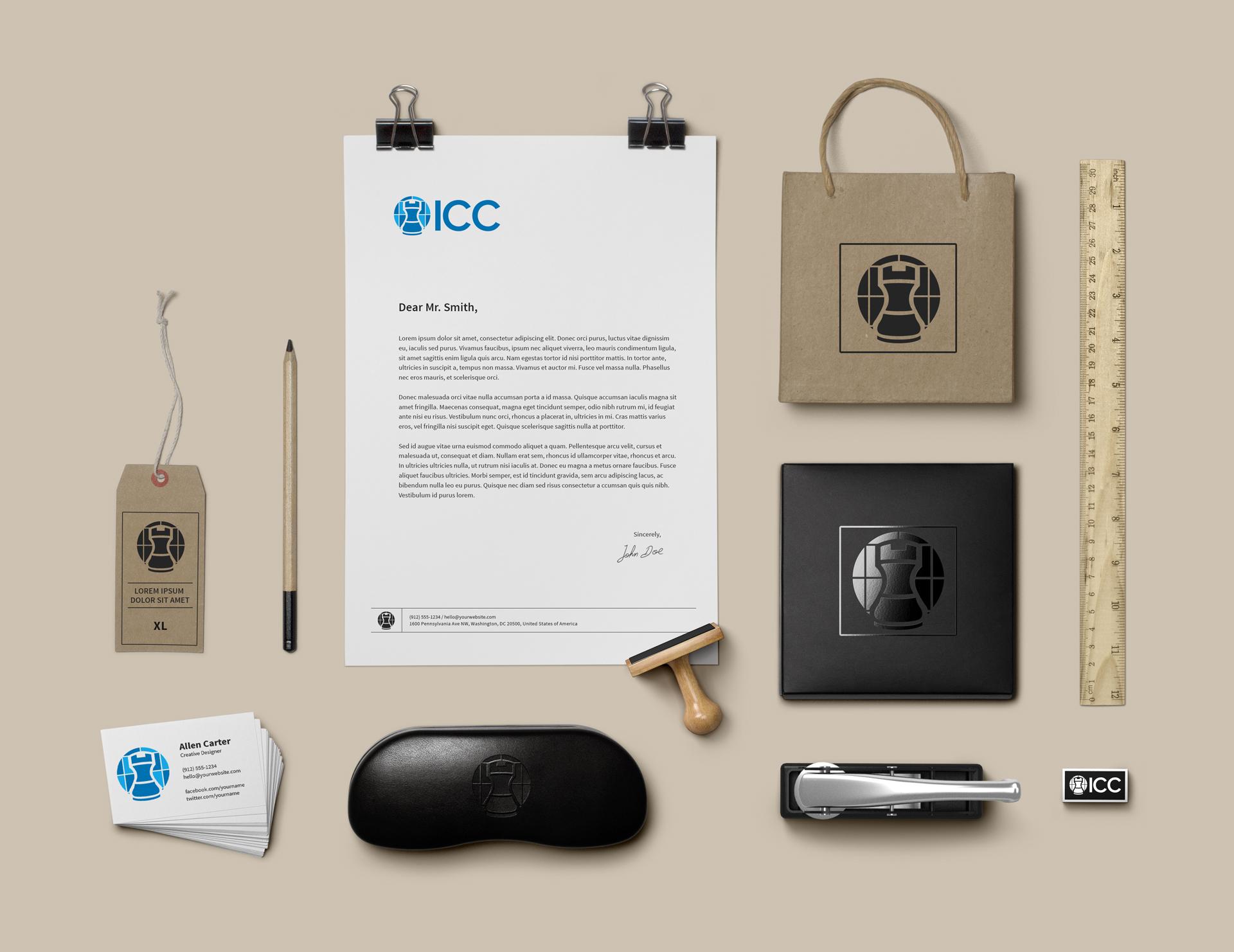 ICC rebranding - logo usage