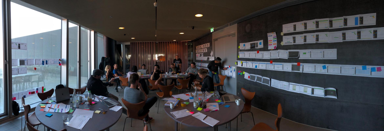 Workshop with design team