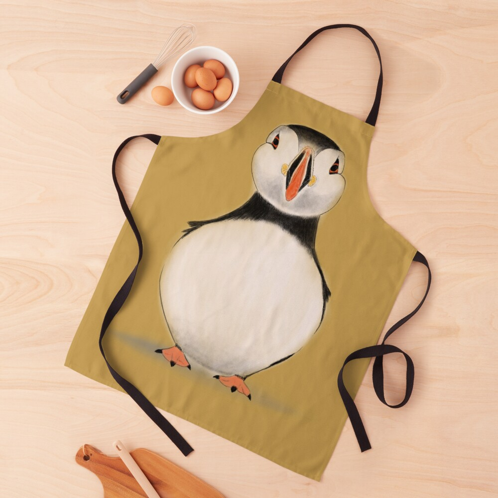 puffin work-apron