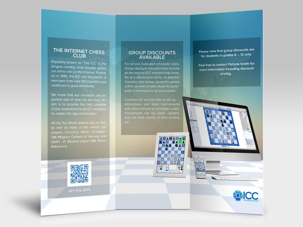 Tri fold brochure for ICC